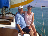 Day Sailing couple