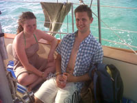 Ben and Rebecca from Reading, UK