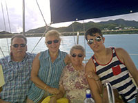 Neil booked a Sunset Cruise as an 83rd birthday present for his mother in law