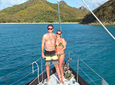 Couples sailing trips