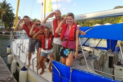 RSailing Skills improvement caribbean