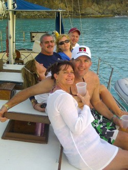 Private sailing boat tours in Antigua