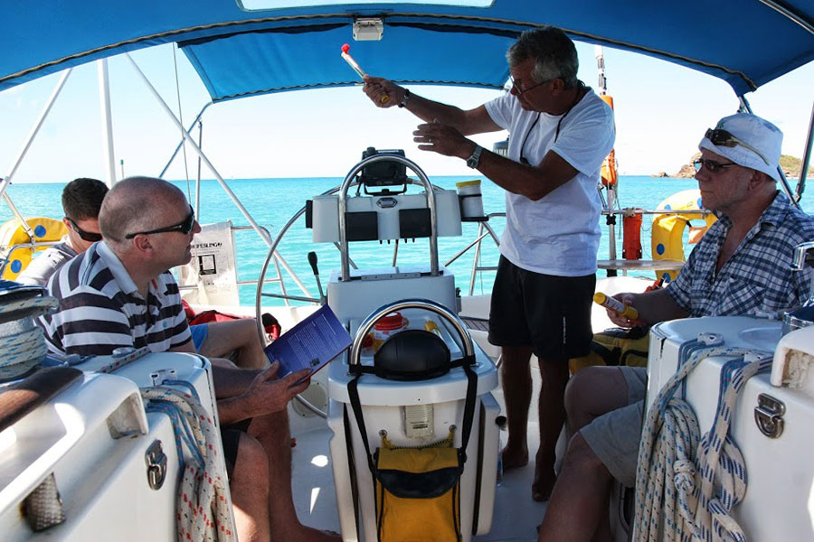 Yachtmaster preparation and exam Caribbean
