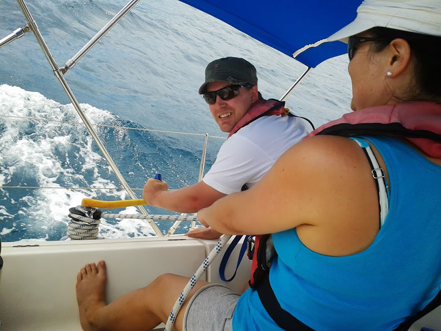 Sailing Skills in Antigua