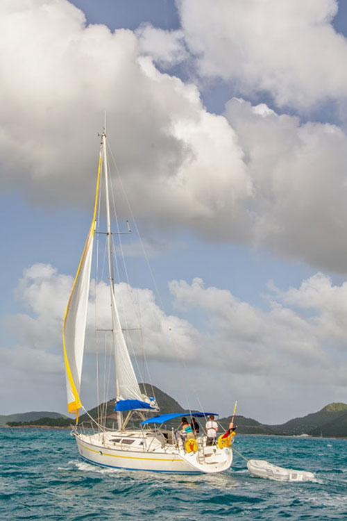 Jeanneau SO40 for Sale Antigua