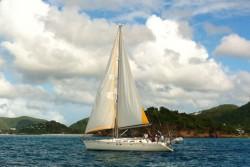 Training and Cruising in Antigua