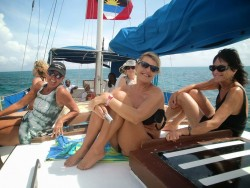 Ladies only sailing trips