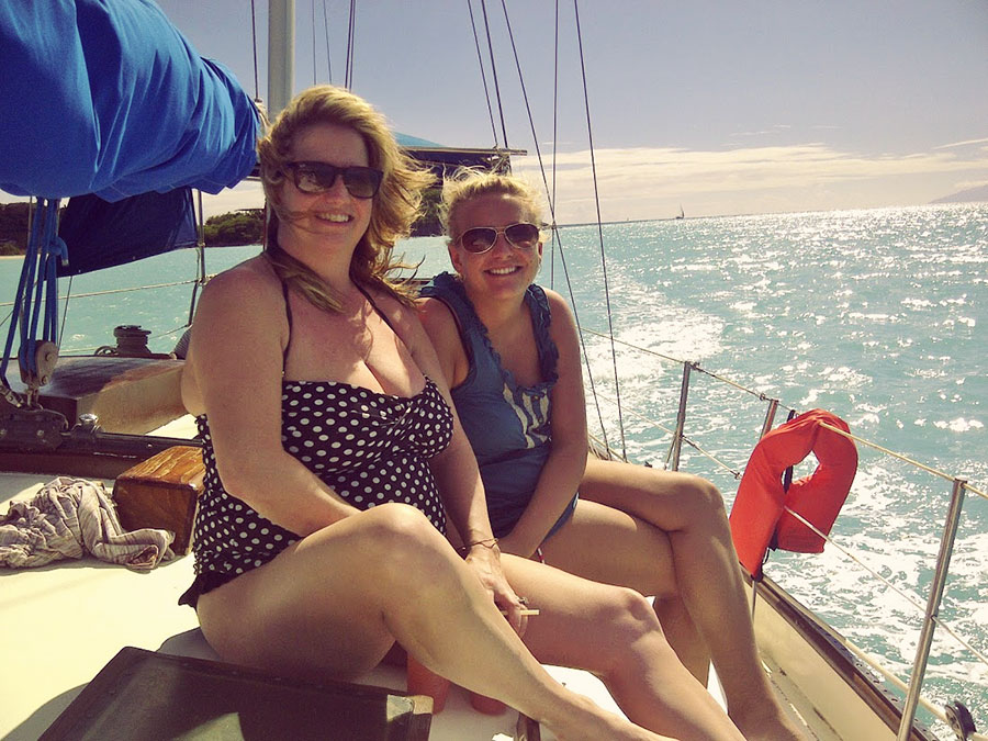 Ladies sailing boat trips in Antigua