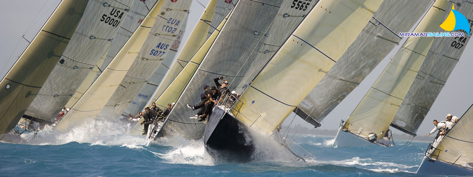 Yacht race charter