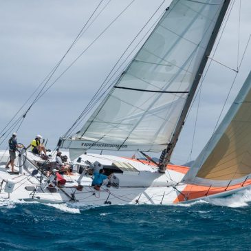 Race to Bermuda for the 35th America's Cup