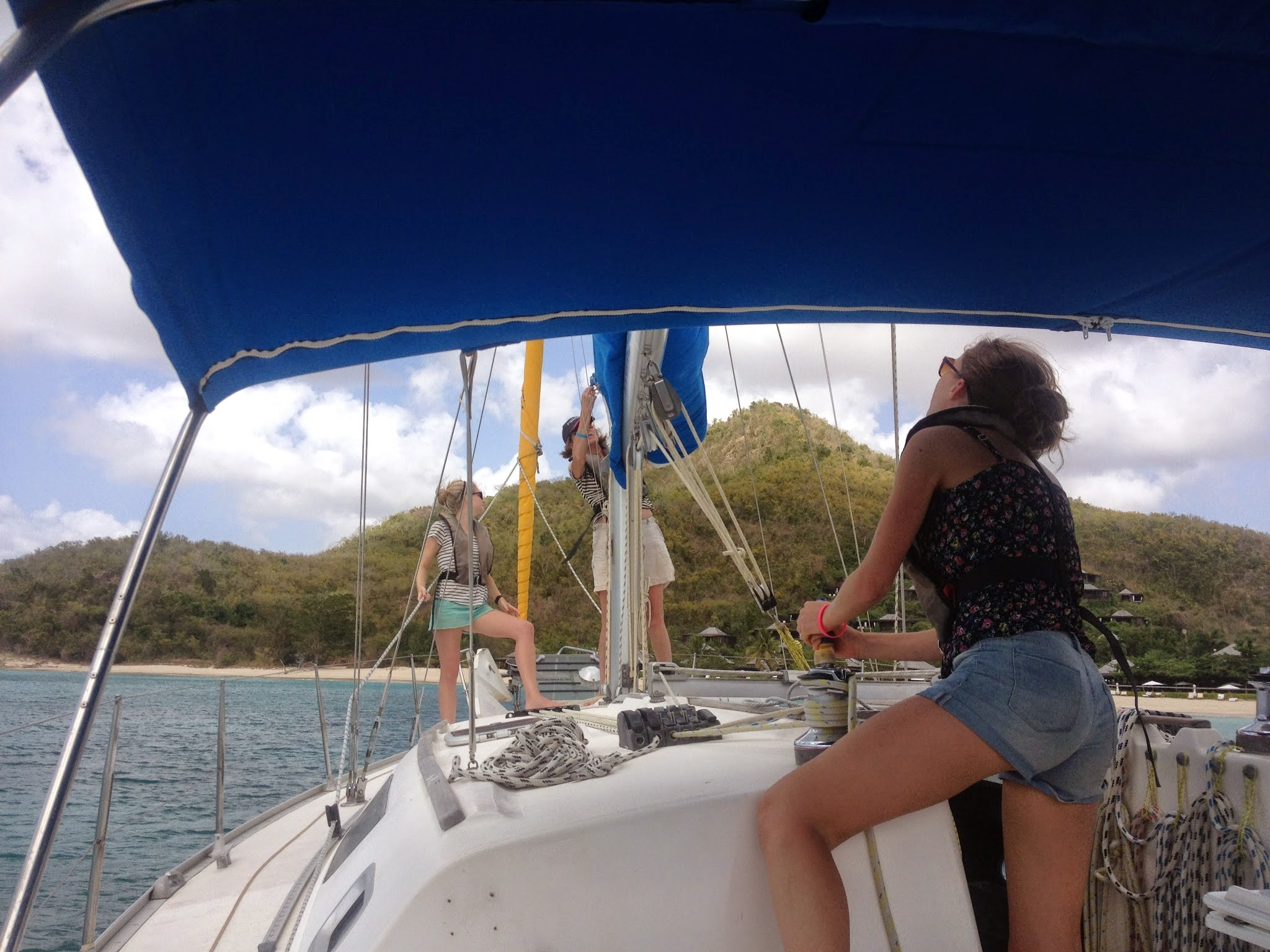 All Female Sailing