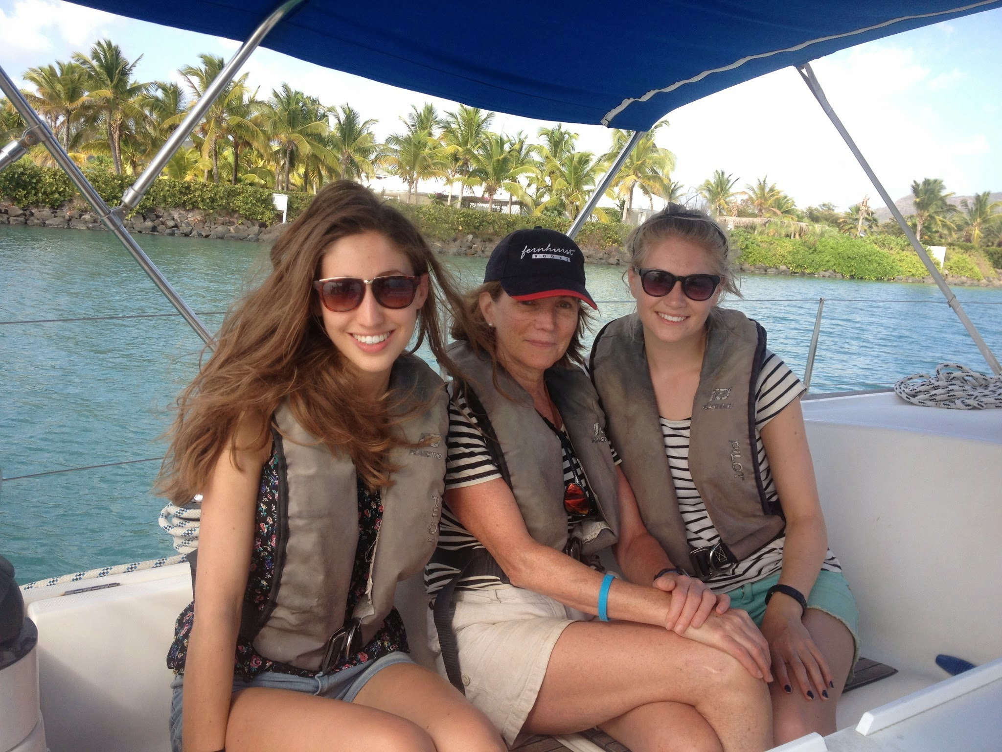 Boat Trips Antigua ladies only
