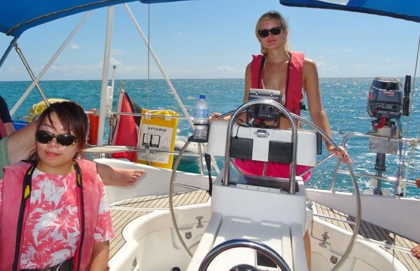 Sailing Skills improvement caribbean