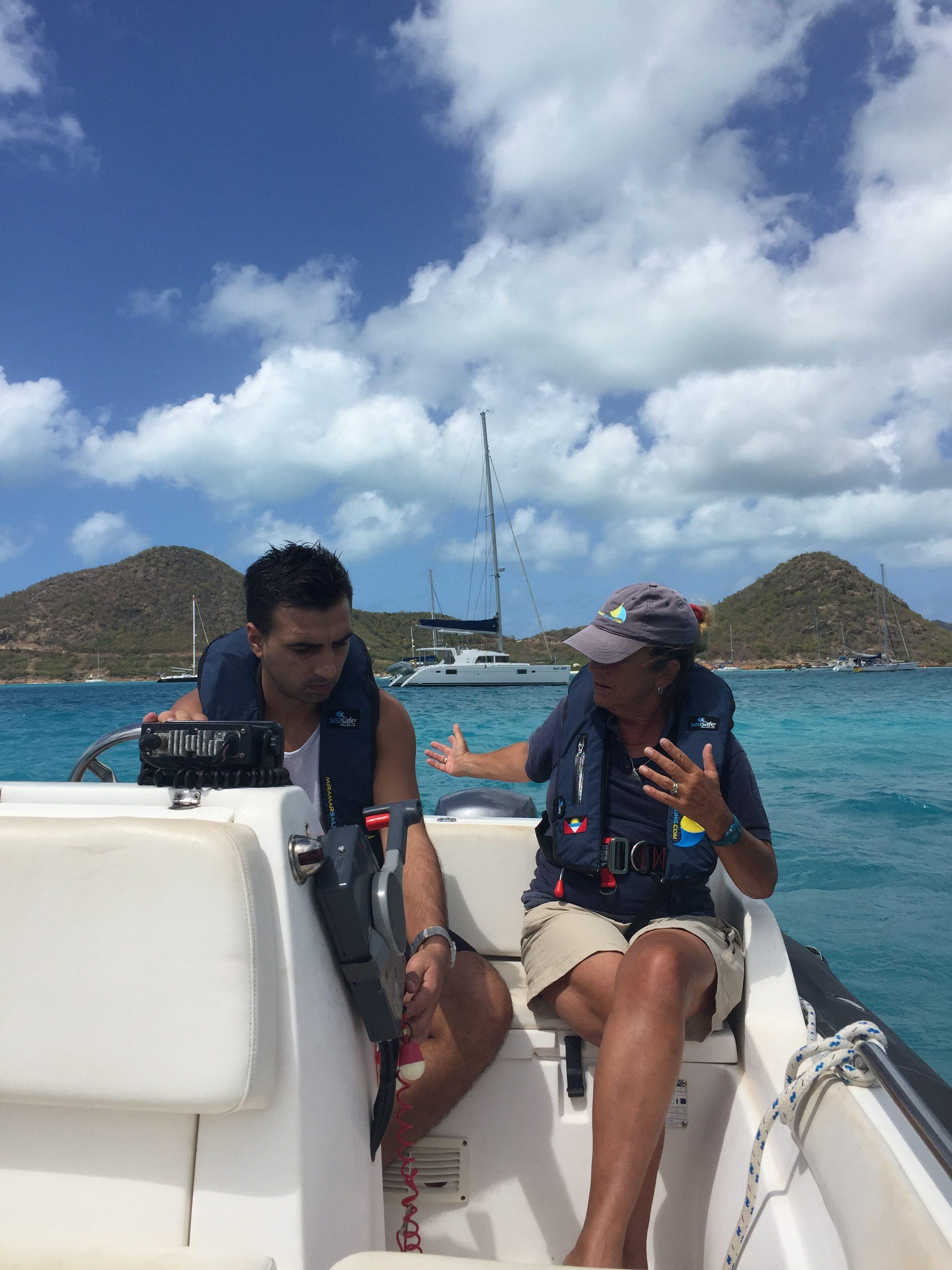 RYA Power Boat Caribbean
