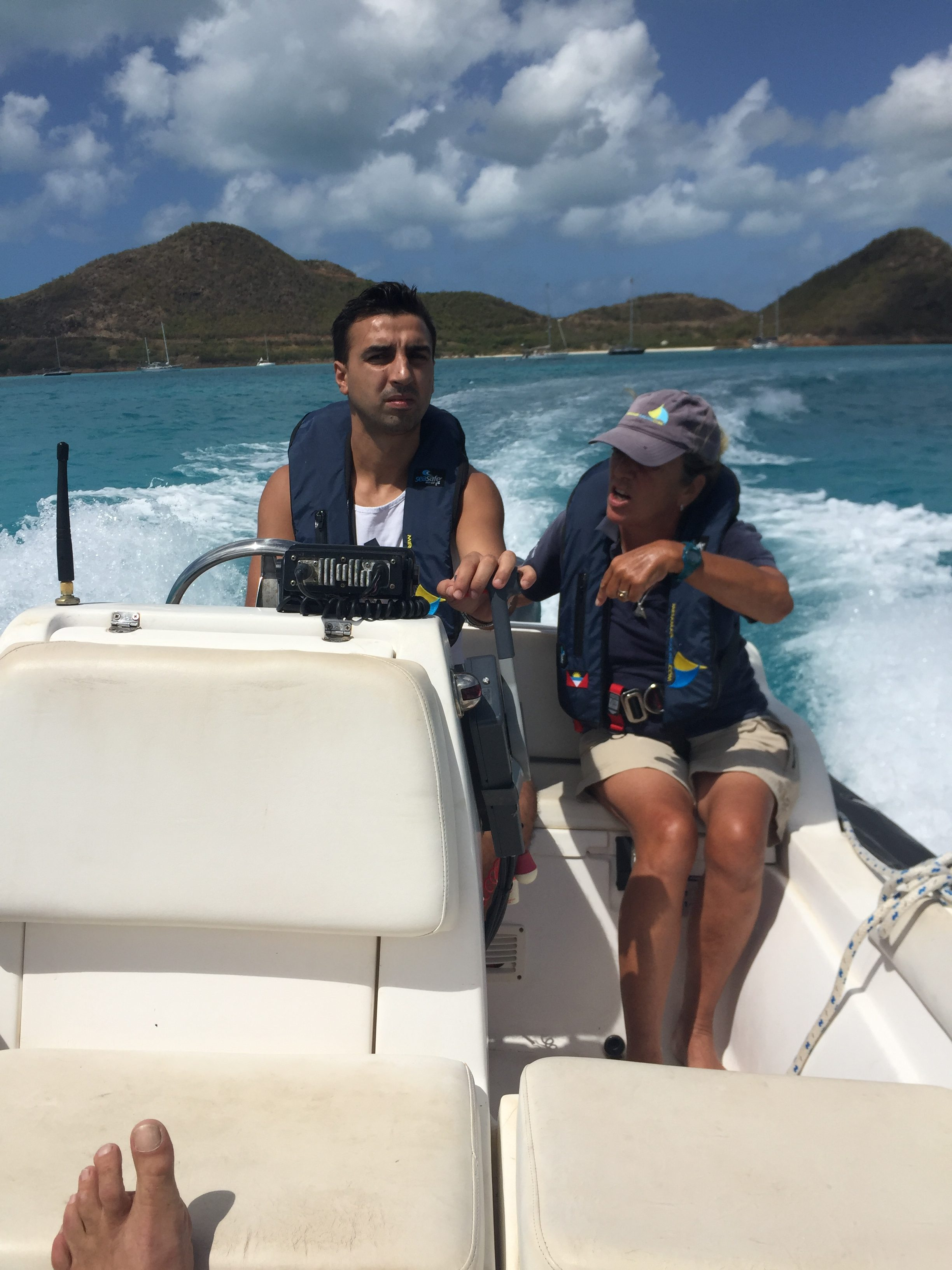 Power Boat Training Caribbean