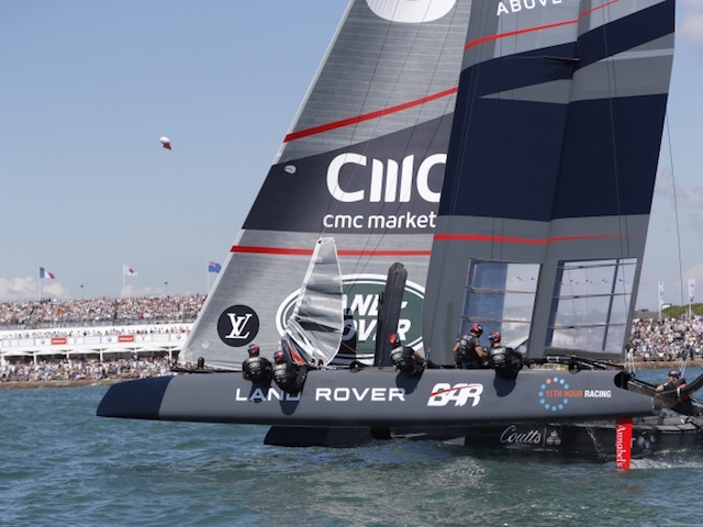 The 35th America's Cup hots up!