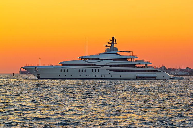 Super Yacht Industry Commercial Endorsement