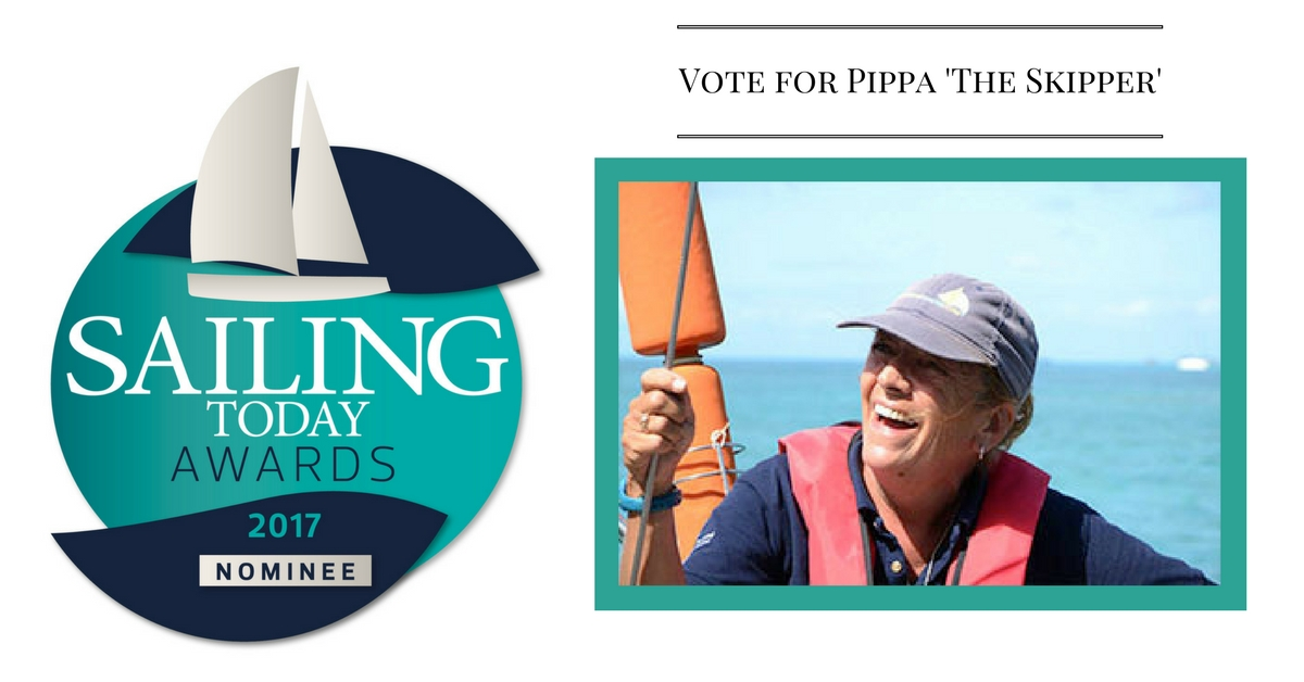 "Cast your VOTE for Pippa the ""Skippa"""