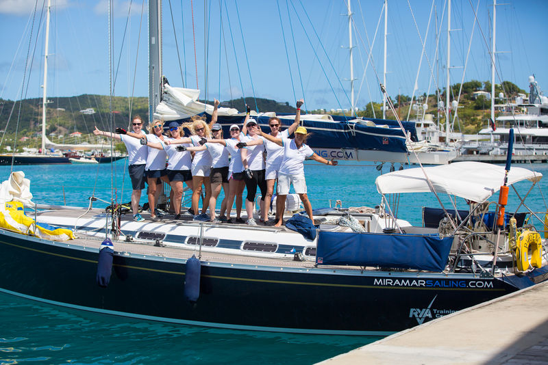 ALL Female crew for RORC C600